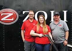 """Elite Shotguns and Zoli USA Team Up with Pro Shooter Bailey Glenewinkle""  GLENSHAW, PA, Tuesday, March 14, 2019 —"