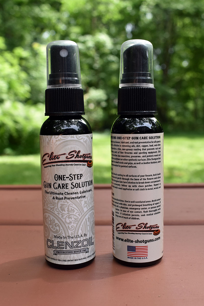Clenzoil and Elite Shotguns Introduce One Step Maintenance Products